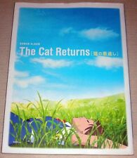The Cat Returns Art Book Roman Album Anime Studio Ghibli