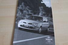 108886) Nissan Micra - technische Daten & Ausstattungen - Prospekt 03/1998