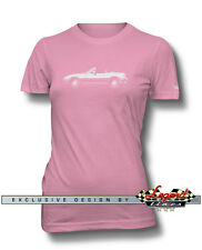Mazda MX-5 Miata Convertible Women T-Shirt - Multiple Colors and Sizes