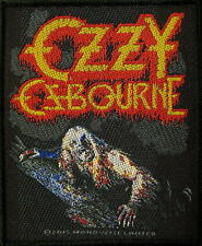 "OZZY OSBOURNE PATCH / AUFNÄHER # 25 ""BARK AT THE MOON"""
