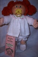 Vintage 1983 Coleco Cabbage Kid Red Hair/KT Factory/Pacifier/1 Raised Eyebrow