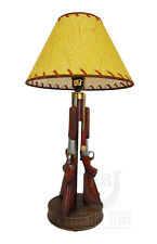 "Western Shotgun 23"" Table Desk Lamp Light - Gun Lamp Hunter Cowboy Cabin Guns"