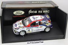 AUTOart 1:18 scale Ford Focus RS WRC 2002 #4 Rally Catalunya - Carlos Sainz