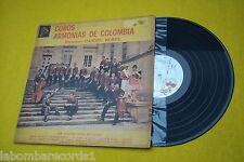 22 Voces Con Ritmos  Daniel Rosel  Coros Armonias De Colombia  (VG/VG+) LP Ç