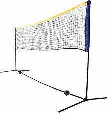 Court Net Volleyball Set Portable System Equipment Outdoor Backyard Beach Play