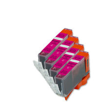 4 MAGENTA Ink Replacement w/ Chip for CLI-226 Canon MG5220 MG5320 MG6120 MG6220