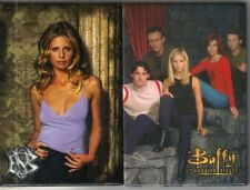 Buffy The Vampire Slayer and Cast Photo Refrigerator Magnets Set of 2 NEW UNUSED