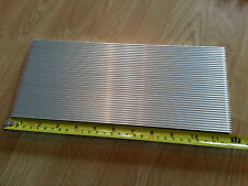 Large Aluminium LED Heatsink (300mm x 127mm x 8mm) UK SELLER 30W, 36W