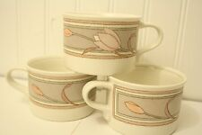 Mikasa- Intaglio -Meadow Sun CACO2 -Set of 3 Coffee/Tea Cups/Mugs