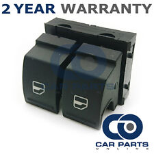 DOUBLE ELECTRIC POWER WINDOW CONTROL SWITCH BUTTON FRONT FOR SEAT IBIZA 2008 On