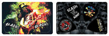 Slash Guitarist Guns-N-Roses PikCard Collectible Guitar Picks (4 picks per card)