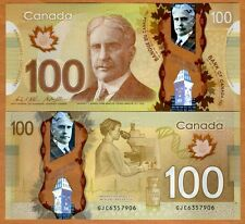 Bank of Canada, $100, 2011 ( 2016), Polymer, P-110-New, UNC