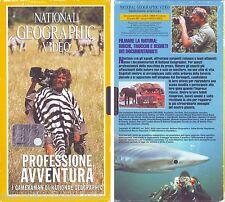 NATIONAL GEOGRAPHIC VIDEO Professione Avventura (1998) VHS USATA, COME NUOVA