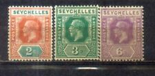 Seychelles King George 3 mint hinged Stamps