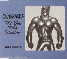 SLINGBACKS - The Boy Who Wanted...  (UK 3 Tk CD Single Pt 2)