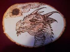 DRAGON, Wood burning, AWESOME **SPECIAL** (DR20152)