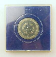 """#e4295 Medaille / 5 Mark Münze """"Internationales Jahr der Frau"""" 1975 DDR"""