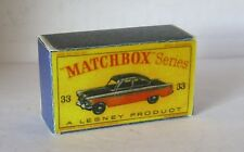 Repro Box Matchbox 1:75 Nr.33 Ford Zodiac MkII