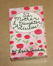 52 Mother and Daughter Activities by Lynn Gordon  -  Cards