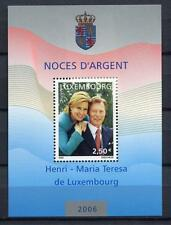39951) LUXEMBOURG 2006 MNH** Silver wedding s/s