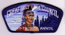 Great Salt Lake Council SA-156 2006 El Ku Ta Lodge 520 50th Anni CSP FREE SHIP