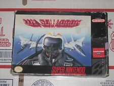 U.N. Squadron by Capcom Rare Complete (Super Nintendo) SNES Game