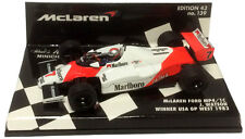 Minichamps McLaren Ford MP4/1C US GP West 1983 John Watson 1/43 (decals applied)