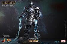 "Sideshow Hot Toys 1/6 Scale 13"" Iron Man 2 Whiplash Mark II Action Figure MMS237"