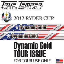 "#3 NEW 2012 RYDER CUP TOUR ISSUE DYNAMIC GOLD S400 .355"" TAPER TIP IRON SHAFT"