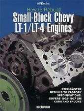 How to Rebuild Small-Block Chevy Lt-1/Lt-4 Engines b...