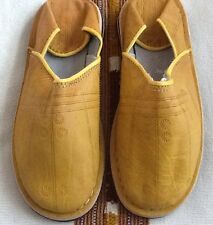 Moroccan Hand Made Leather Women Shoes 8.5