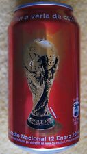 Chile 2013 Coca Cola Can Limited Edition Tour World Cup Soccer FIFA 2014 Brazil
