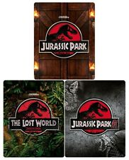 Jurassic Park Trilogy (3000 ONLY Zavvi Limited Edition Blu-ray Steelbooks) [UK]