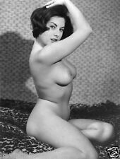 Vintage 1960s D Breasted British Pinup, JUNE PALMER 8 x 10 Photograph