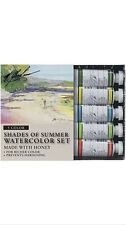 M. Graham Tube Watercolor Paint Shades of Summer 5-Color Set, 1/2-Ounce