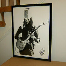 Buckethead, Guns N' Roses, Lead Guitar Player, Metal, Rock, 18x24 POSTER w/COA 1