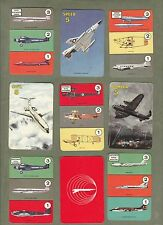 Collectable vintage cards game Planes by Pepys 1965