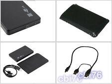 Mini disque dur externe auto-alimenté 160GO USB 2.0 Formaté FAT32 Couleur : Noir