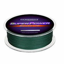 KastKing SuperPower 30 lb Test Braided Fishing line (328 yds) - Moss Green