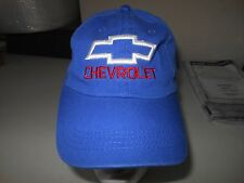 Chevrolet Blue Racing Golf Hat - Brand New - Free US Shipping!!