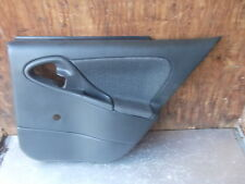 2000-2002 CHEVROLET CAVALIER RIGHT REAR PASSENGER SIDE  DOOR PANEL DARK GREY