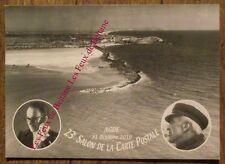 Carte postale 23e salon Agde,Miquel,Le Couteur,Vieux cap,300 ex.CPSM