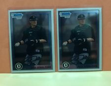 Josh Donaldson RC Lot (2) 2010 Bowman Chrome Prospects Rookie Lot Blue Jays