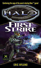 Halo: First Strike, By Eric S. Nylund,in Used but Acceptable condition