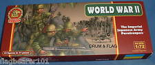 ULTIMA RATIO SET 7205. THE IMPERIAL JAPANESE ARMY PARATROOPERS. WW2 1/72 SCALE