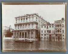 Italia, Venezia, Palazzo Corner della Ca' Granda  Vintage citrate print. Italy.