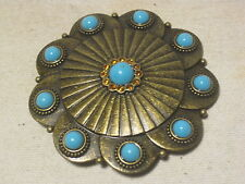 belt buckle woman's woman turquoise rhinestone plastic metal fashion 41052A