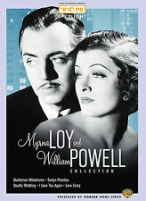 Myrna Loy and William Powell Collection (Manhattan Melodrama / Evelyn Prentice..