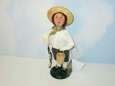 Byers Choice 2007 Exclusive Williamsburg Colonial Boy with Fish and Bait Bucket