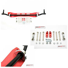 EG Civic Integra Rear Lower Subframe Sway Bar End Link Suspension Set Red